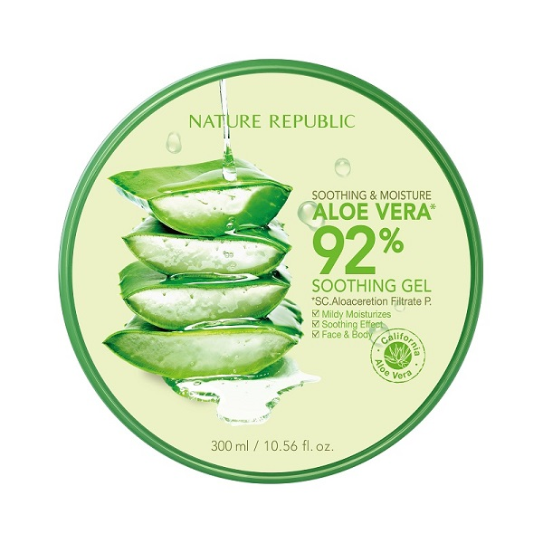 Nature Republic Aloe Vera 92% gel za lice, telo i kosu