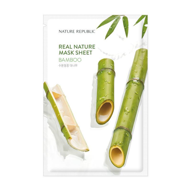 Nature Republic Real Nature maska bambus