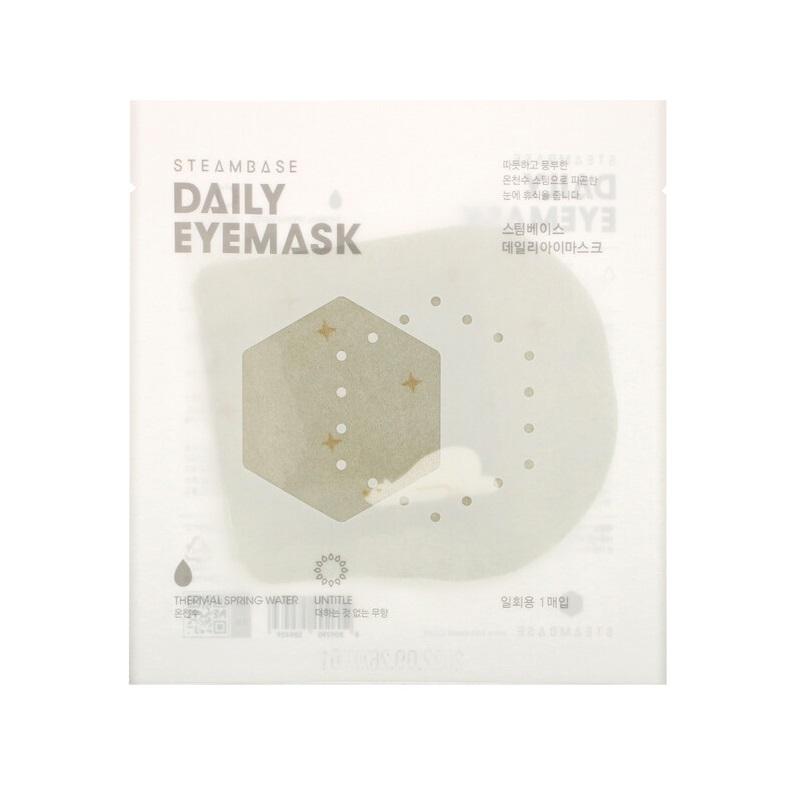 STEAMBASE termalna maska za umorne oči – bez mirisa