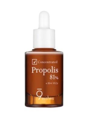 9wishes 81% Propolis koncentrat ampula 30ml