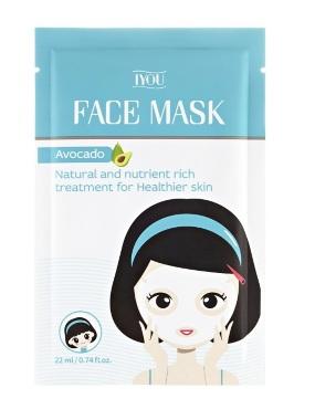 IYOU sheet maska za lice na bazi avokada