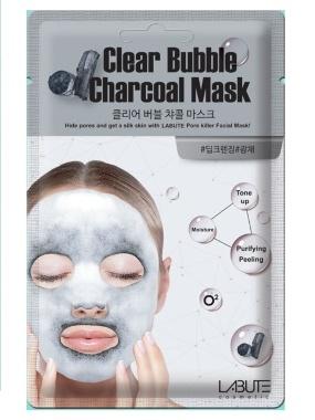 Labute Maska za dubinsko čišćenje pora na bazi aktivnog uglja