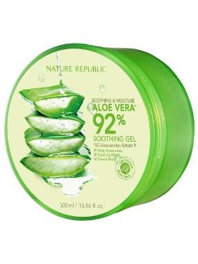 Nature Republic Aloe Vera 92% gel za lice, telo i kosu